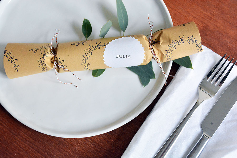 DIY – Christmas Crackers