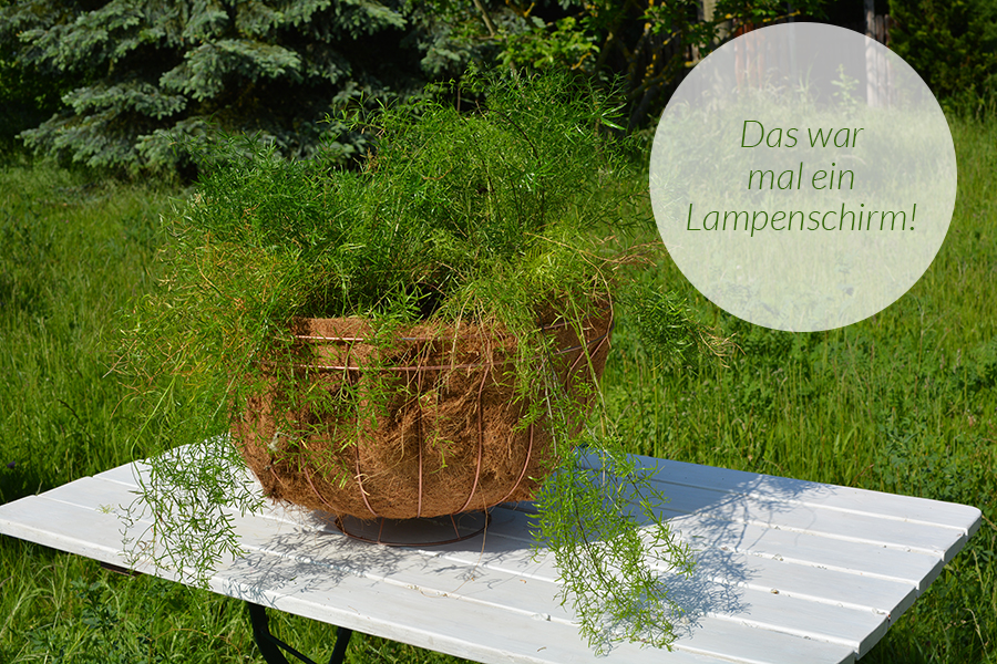 lampenschirm upcycling tutorial